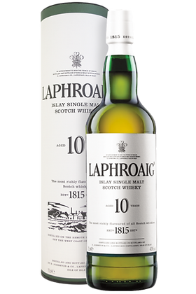 Scotch whisky Laphroaig 10 years cl 70 Astucciato