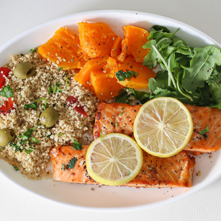 Give It A Try: Mediterranean Salmon for One