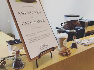 BARNEYS NEW YORK神戸様にてコーヒーサービス