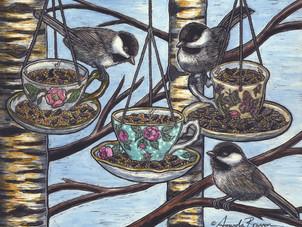 Chickadee-dee-dee Tea!