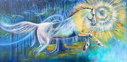 High Res Spirit Horse Running 9%22