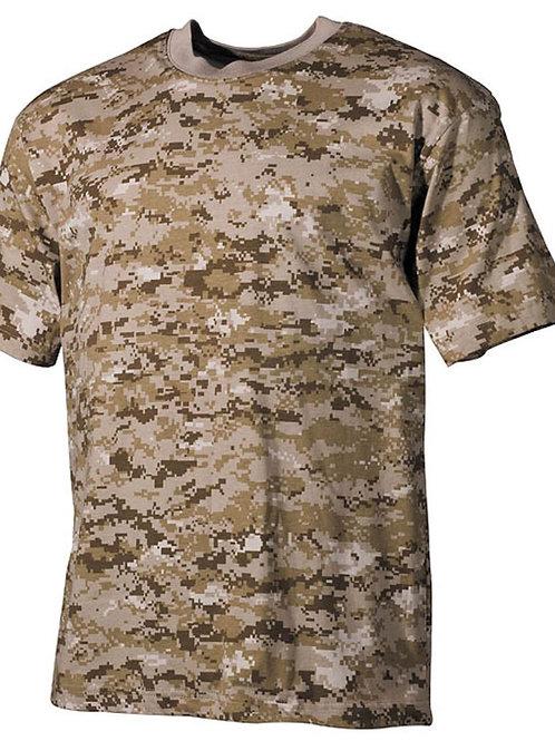 T-Shirt MFH digital désert
