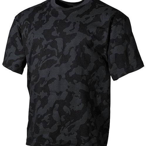 T-Shirt MFH Night Camo