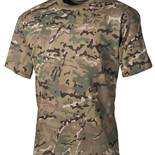 T-Shirt MFH Multi-Camo