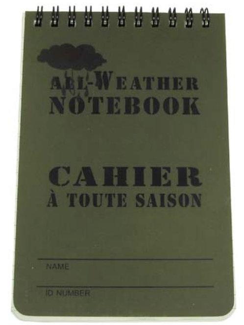 Cahier Waterproof