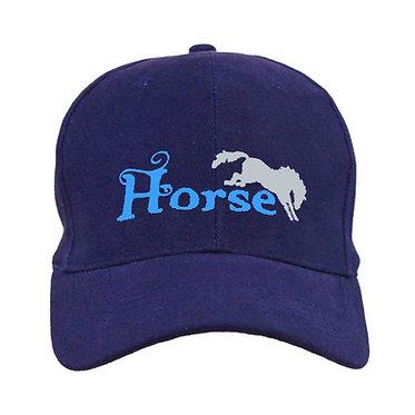 "HORSE CAP HAT""HORSE"" WITH BUCKING HORSE"
