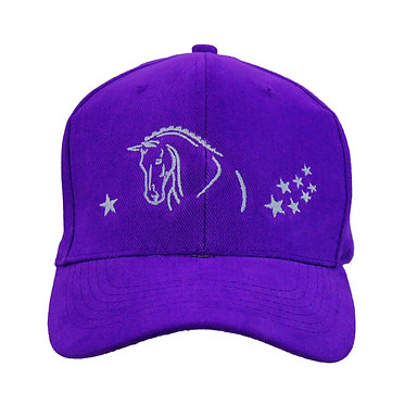 HORSE CAP HAT HORSE WITH STARS