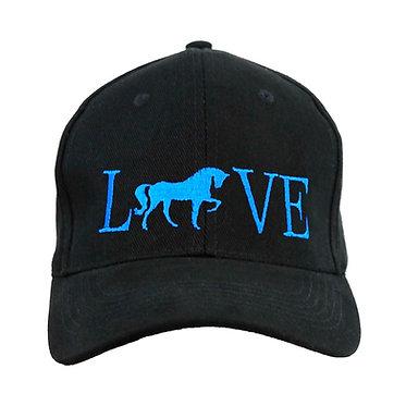 """HORSE CAP HAT """"LOVE"""""""
