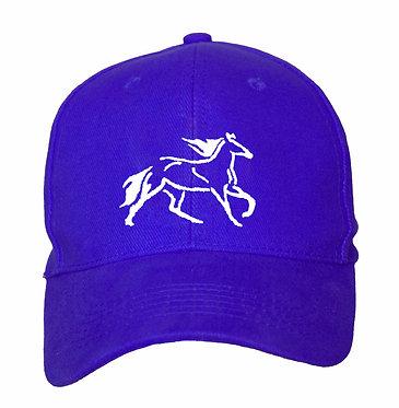 HORSE CAP HAT HORSE CANTERING