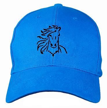 HORSE CAP HAT HORSE WITH FLOWING MANE