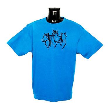 Aqua Horse T-shirt Front View
