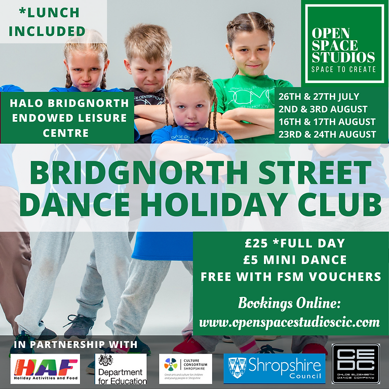 Bridgnorth Street Dance Holiday Club