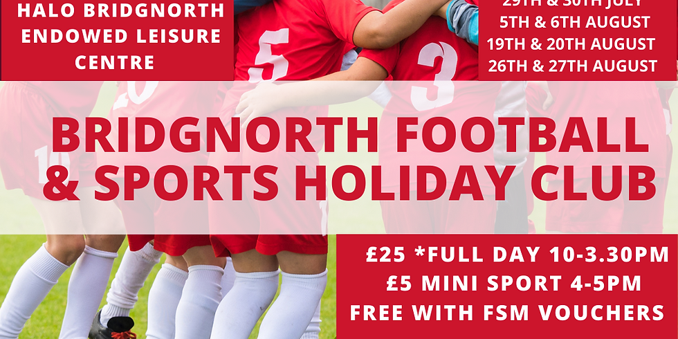 Bridgnorth Sport & Football  Holiday Club (1)