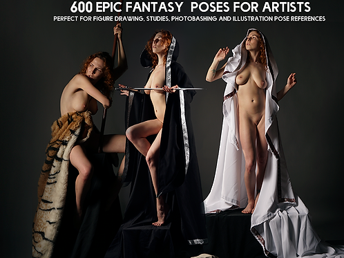 600+ Epic Female Fantasy Pose Reference Pictures