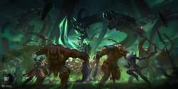 精灵与兽人+Elfs-VS-Orcs[www.redpencilart.com]