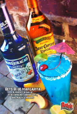 Beto Blue Margarita