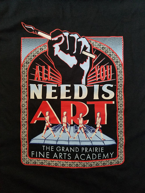 All You Need Is Art Tee (sales tax included)
