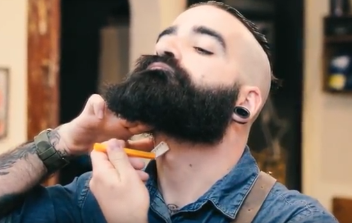 Como arreglar a barba en casa.