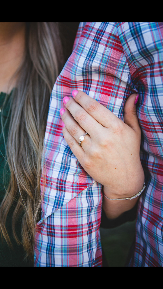 First things first, you're engaged now!
