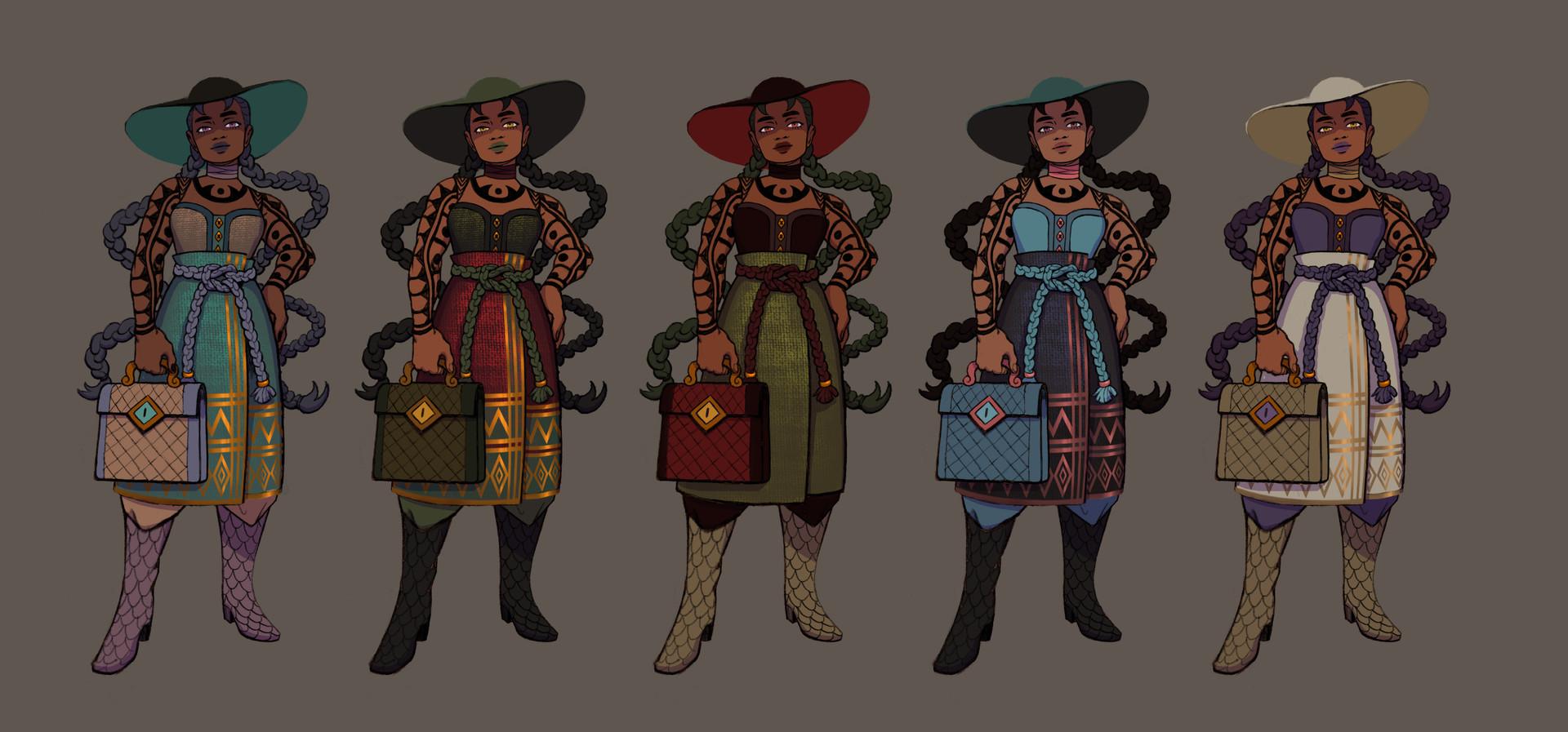 Dolores Color Variants