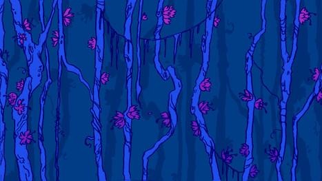 """Background for """"Agatha's Garden"""""""