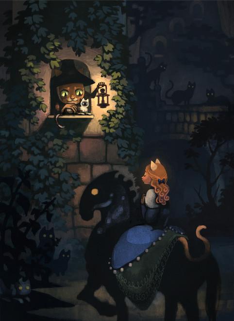 Cat Witch's Curse