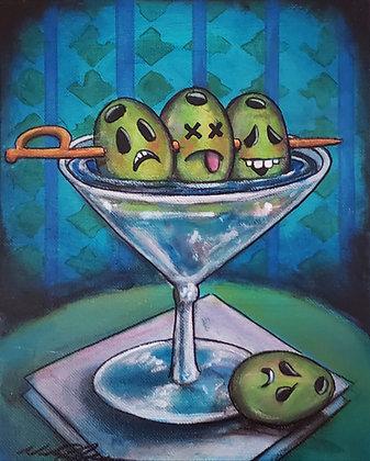 print of Dirty Martini