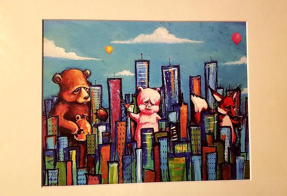"""Party Animals"" (Prints)"