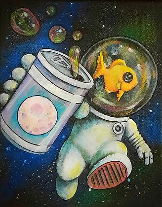 """""""Space Walk"""" Prints"""