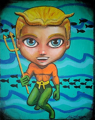 prints of AQUAMAN
