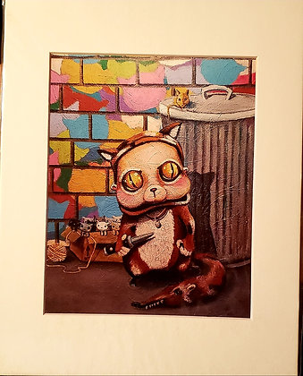 """Kitty Litter"" (Prints)"
