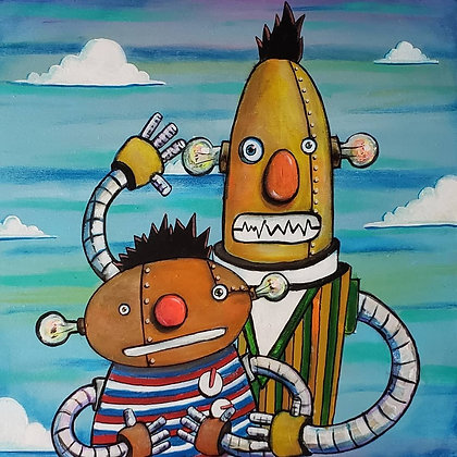 """Ro-Bert and Eernie"" (Prints)"