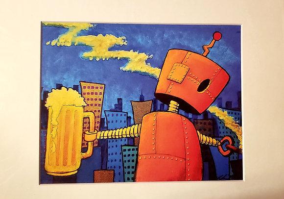 """Beer Bot"" (Prints)"