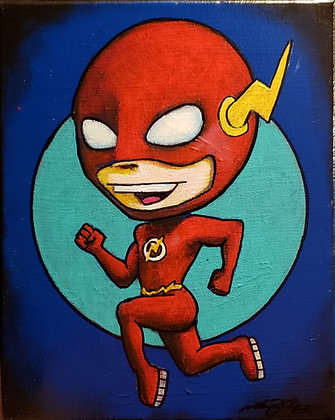 print of THE FLASH