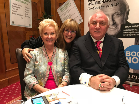 Tina Taylor with Dr. Richard Bandler