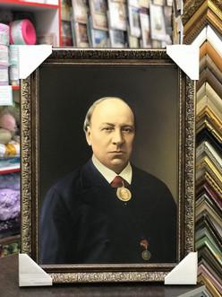 маслянный портрет в раме