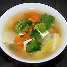 8. Tao Hu Soup แกงจืดเต้าหู้เจ