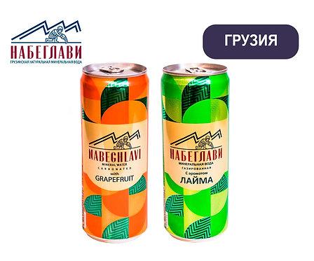 Упаковка Напитки Набеглави. Ж/б. 330 мл (лайм, грейпфрут)