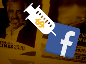 Facebook promised to ban anti-vaxx ads. One day later it's still broadcasting them.