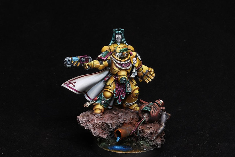 Captain Lysander, Defender of Terra (GW) WH40K Imperial Fist