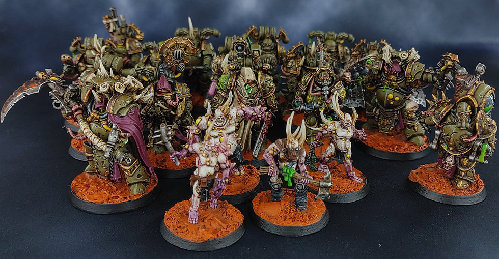 Shepherds of Contagion (GW) WH40K Kill Team Death Guard
