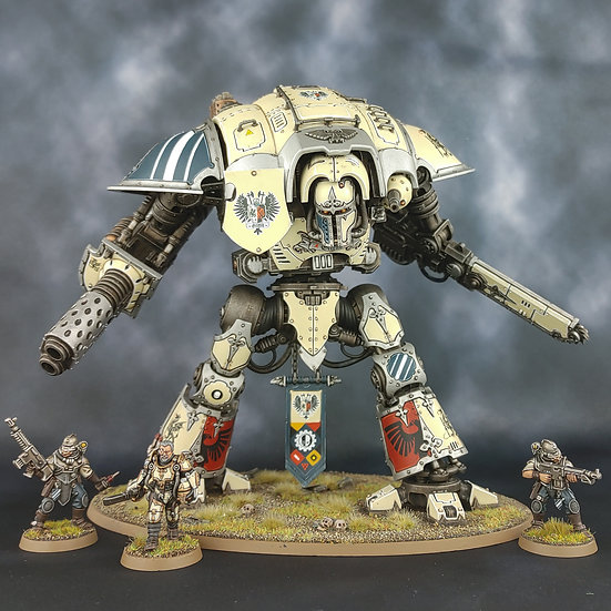 Reynald, Vengeance of the Lost (GW) WH40K Knight Worlds