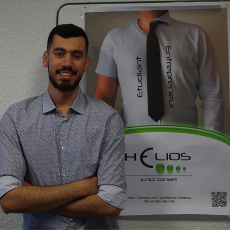 Hicham, Junior Entrepreneur de Mai