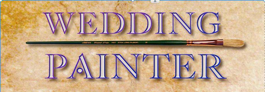 Wedding painter logo