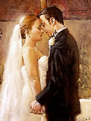 Wedding Painting, Dan Nelson