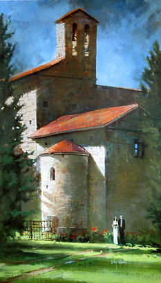 Italian Wedding Painting, Dan Nelson