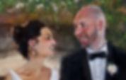 Wedding Painting close up, Dan Nelson