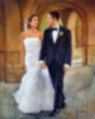 Wedding Painting, Dan Nelson