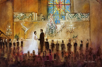 Wedding Painting Rocky Mount, Dan Nelson