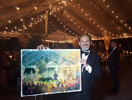 Watercolor Wedding Painting Dan Nelson